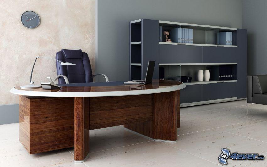 ufficio, tavolo da lavoro