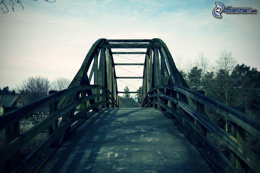 Bothell Bridge, ponte di legno