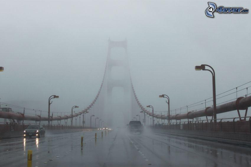 Golden Gate, ponte in nebbia