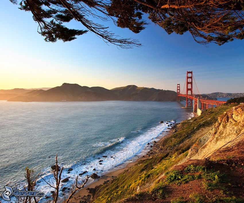 Golden Gate, San Francisco, USA, ponte