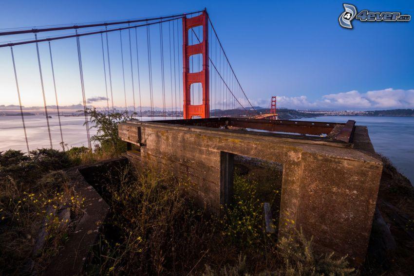 Golden Gate, vecchio edificio