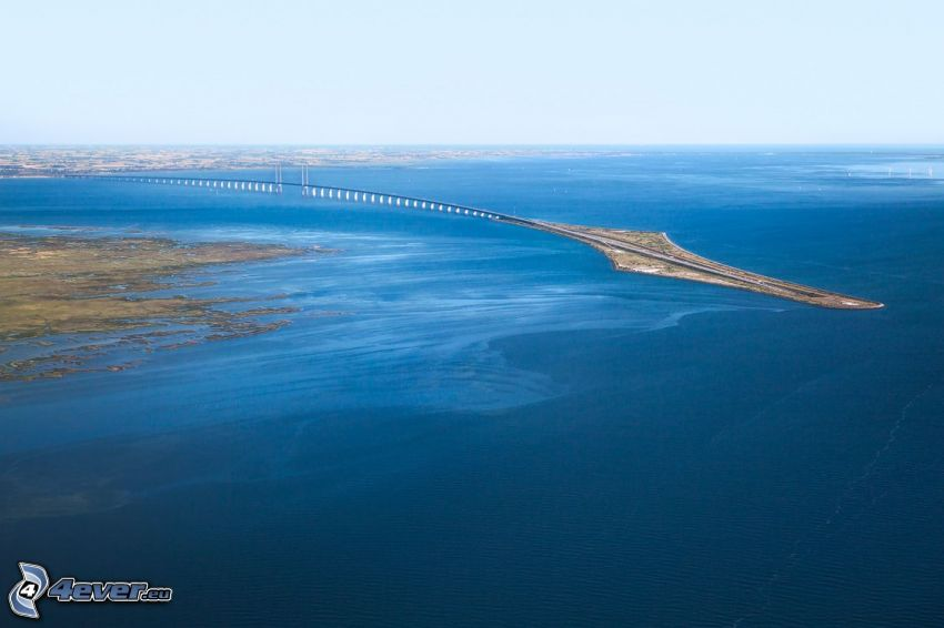 Øresund Bridge, mare