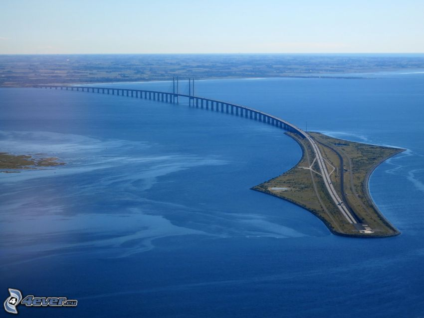 Øresund Bridge, mare