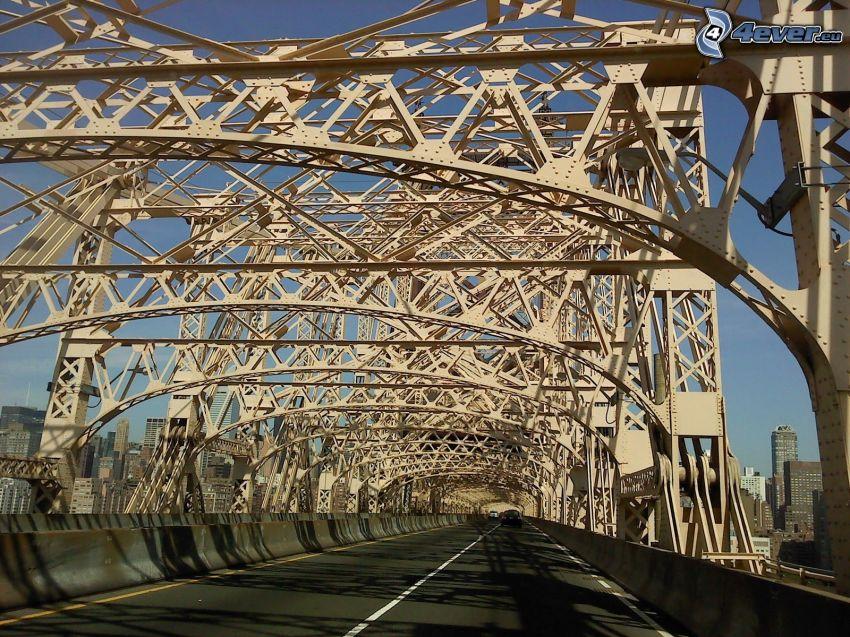 Queensboro bridge, strada