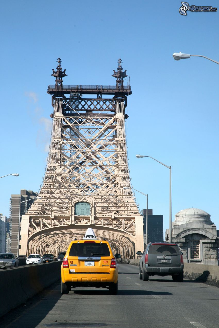 Queensboro bridge, taxi