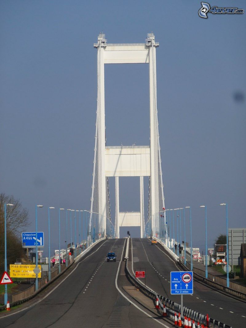 Severn Bridge, autostrada