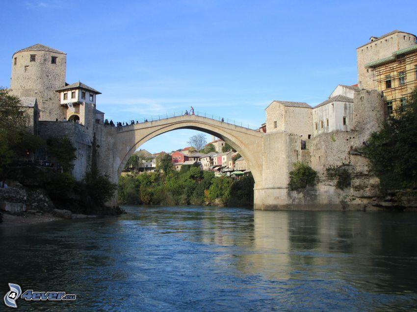 Stari Most, Neretva, Mostar