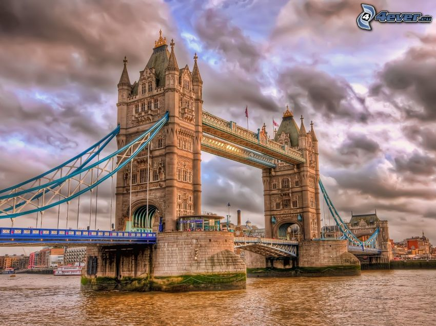 Tower Bridge, HDR