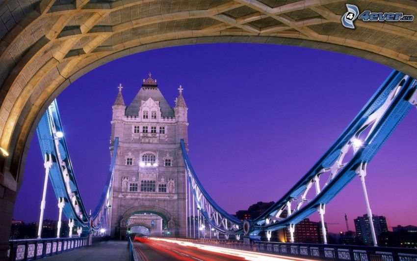 Tower Bridge, Londra, ponte
