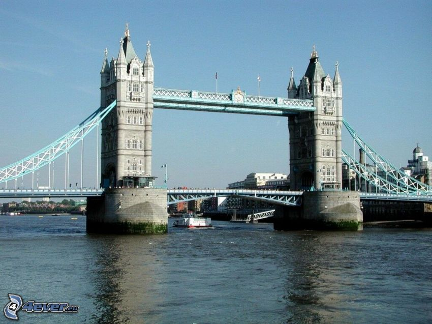 Tower Bridge, Tamigi
