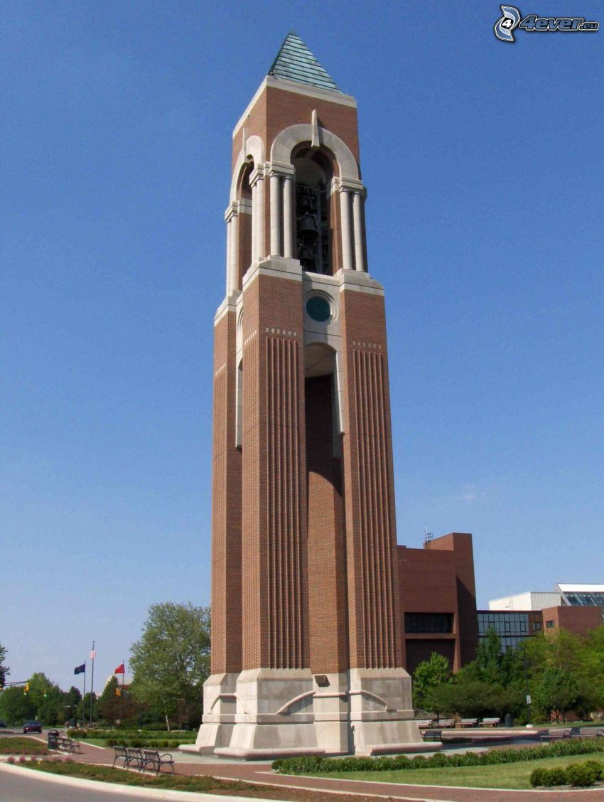 Shafer Tower, campanile