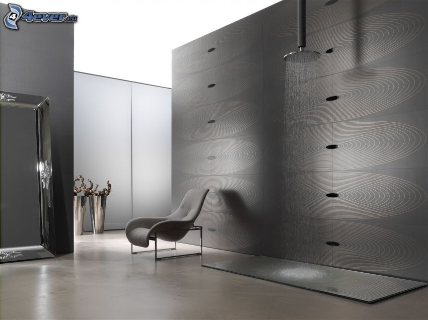 stanza, doccia