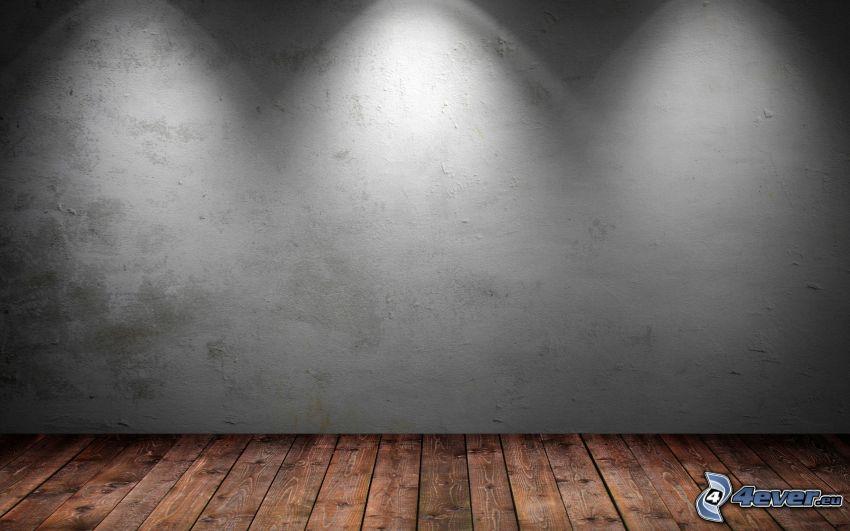 stanza, luci, pavimento di legno