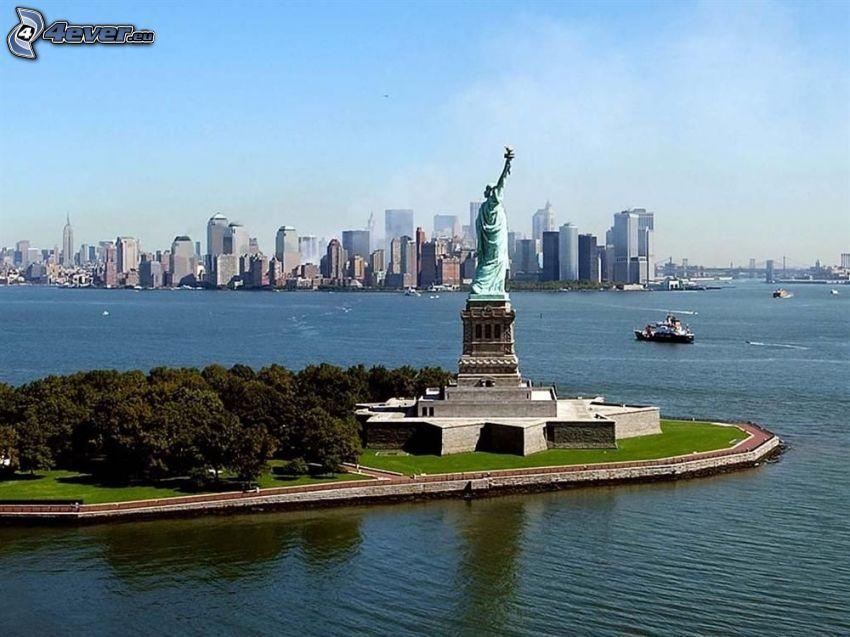 Statua della Libertà, New York, Manhattan