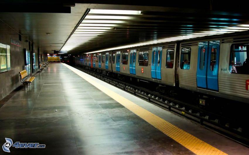 stazione del metro, metro