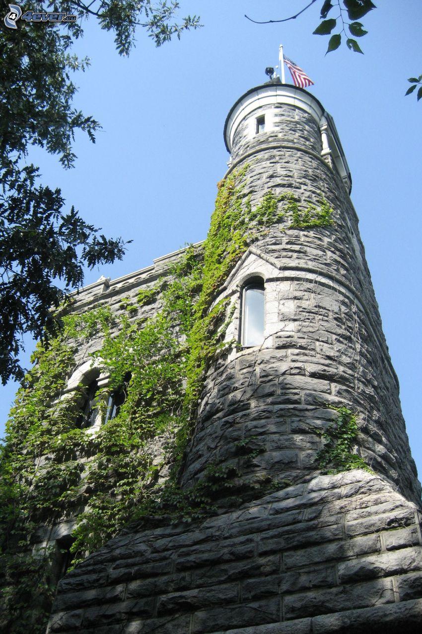 Castello Belvedere, torre