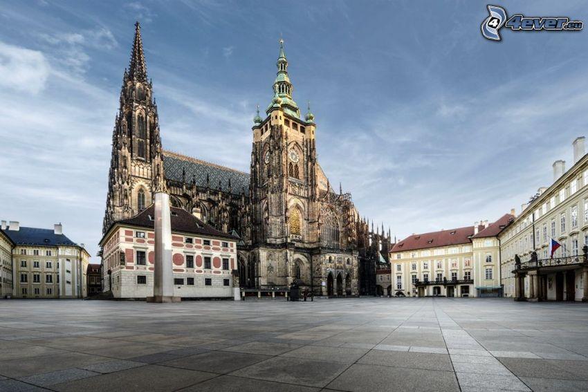 Castello di Praga, Praga, piazza