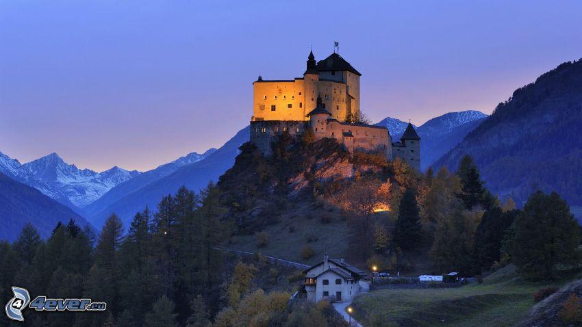 castello di Tarasp, Svizzera