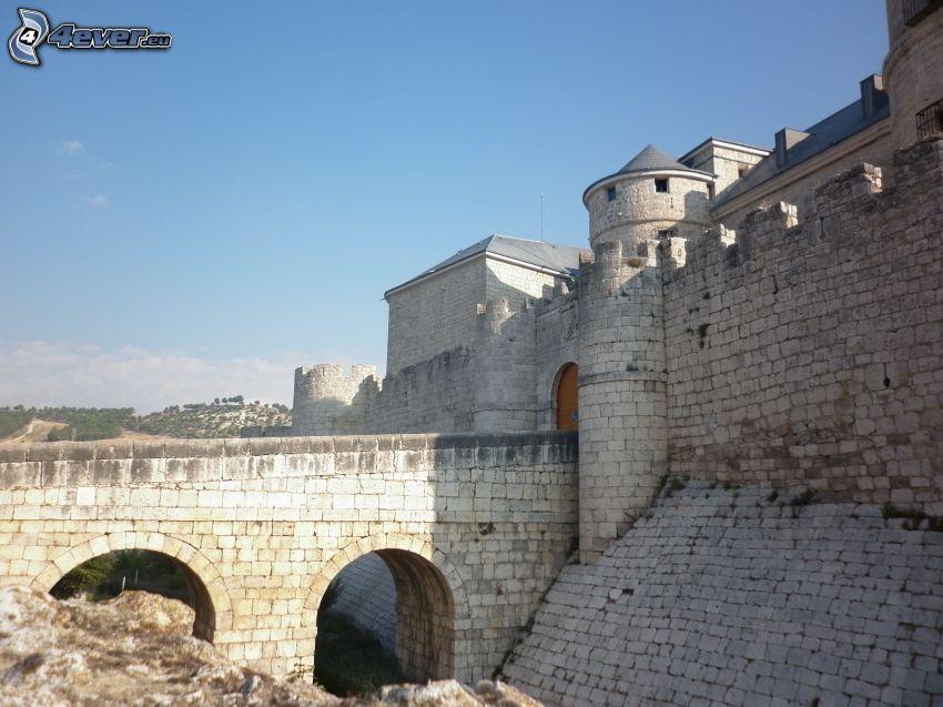 castle Simancas, ponte