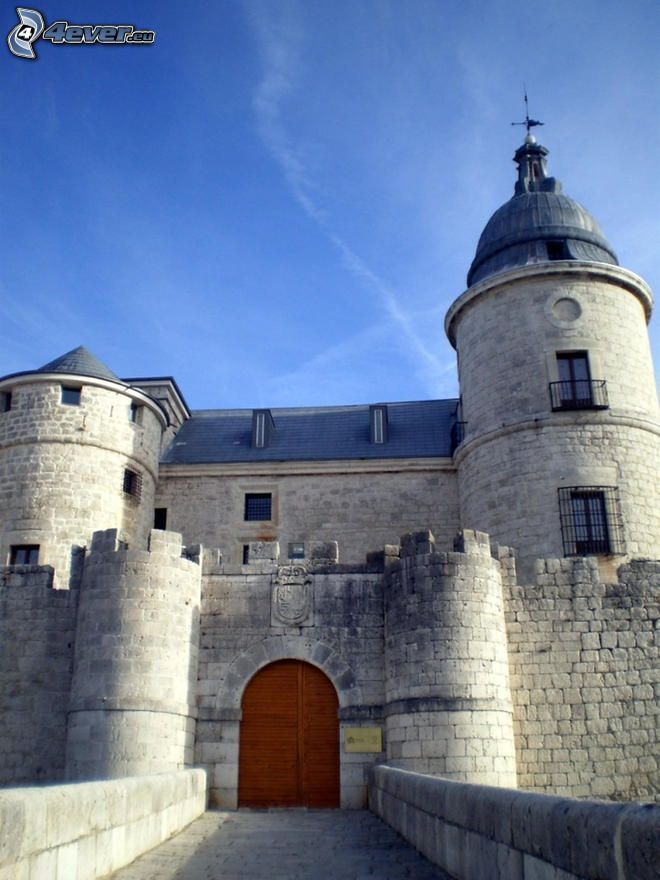 castle Simancas, portone