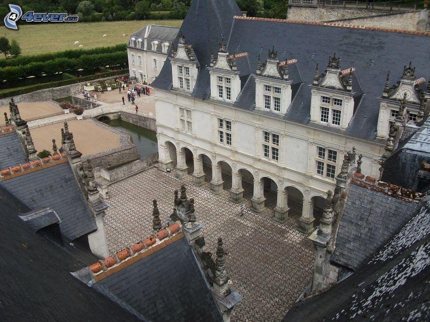 Château de Chaumont, cortile
