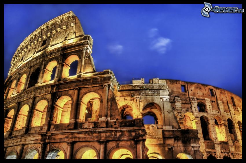 Colosseo, HDR