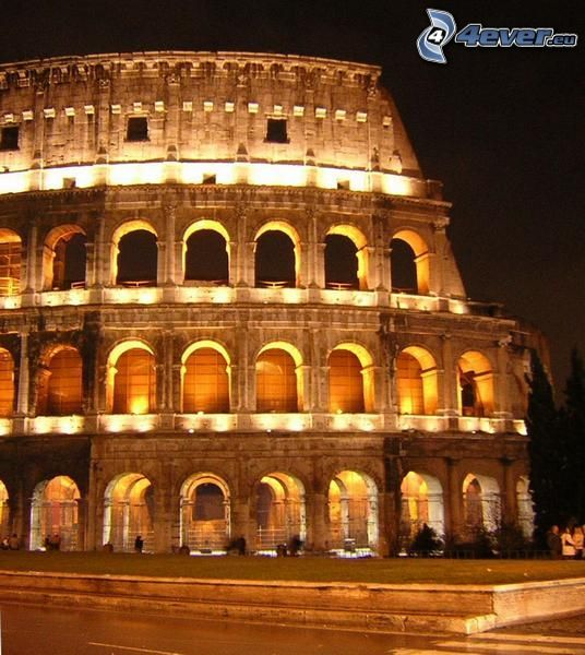 Colosseo, notte