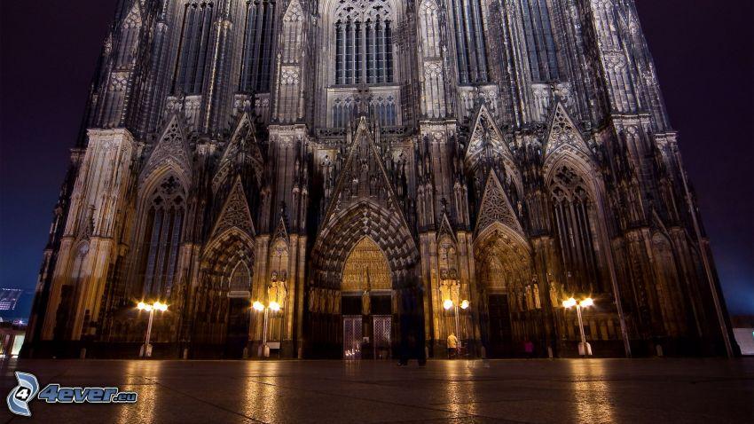 Duomo di Colonia, notte