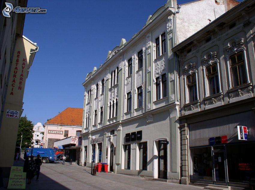 edificio, Nitra