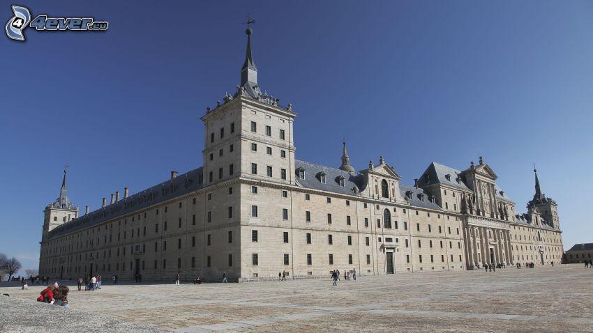El Escorial, piazza