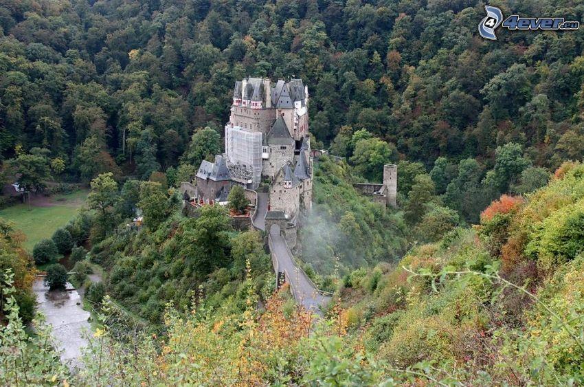 Eltz Castle, foresta