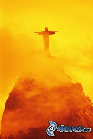 Gesù a Rio de Janeiro, statua