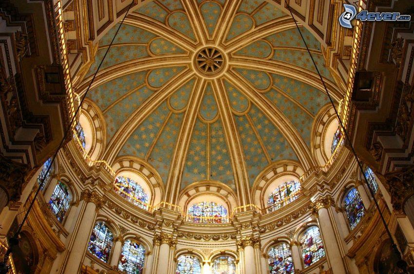 Granada Cathedral, arco, soffitto