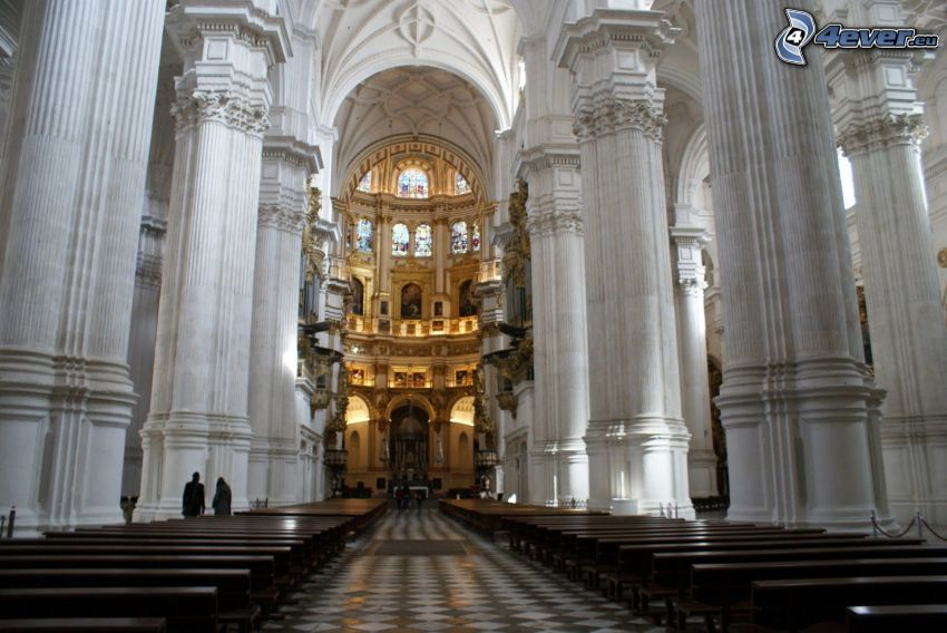 Granada Cathedral, interno