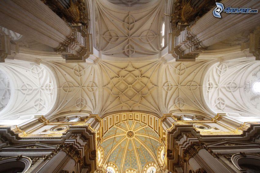 Granada Cathedral, soffitto