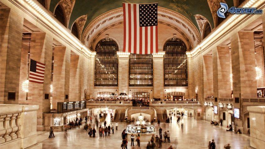 Grand Central Terminal, stazione ferroviaria, New York