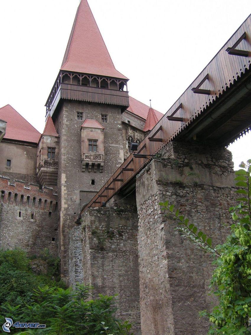 Hunyad, castello, ponte
