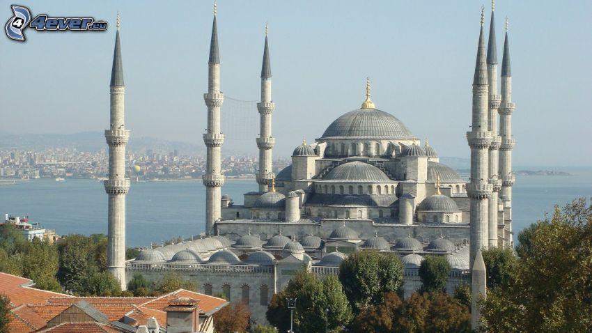La Moschea Blu, Istanbul