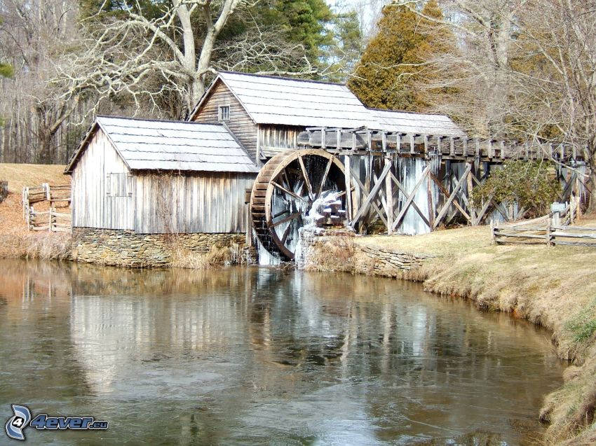 Mabry Mill, il fiume