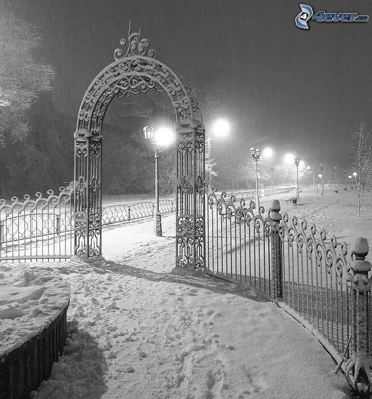 portone nevoso, parco