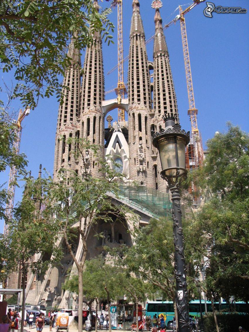Sagrada Familia, Barcellona, costruzione
