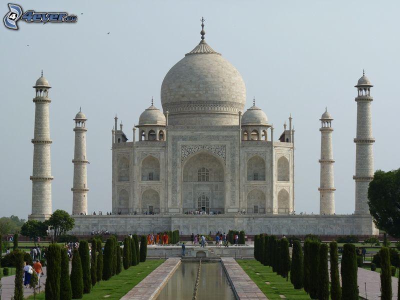 Taj Mahal, parco