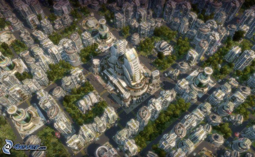 Anno 2070, sci-fi città