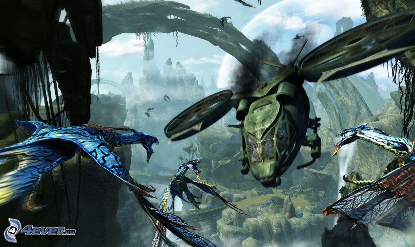 Avatar, paesaggio fantasy