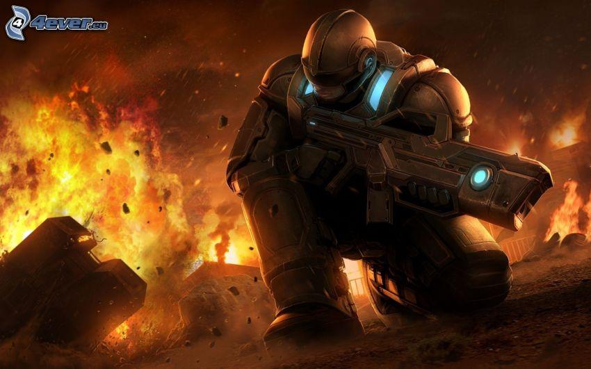 PC gioco, esplosione