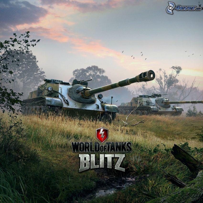 World of Tanks, carri armati, campo