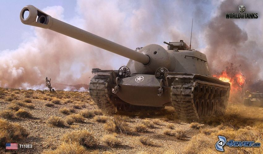 World of Tanks, carro armato, fuoco