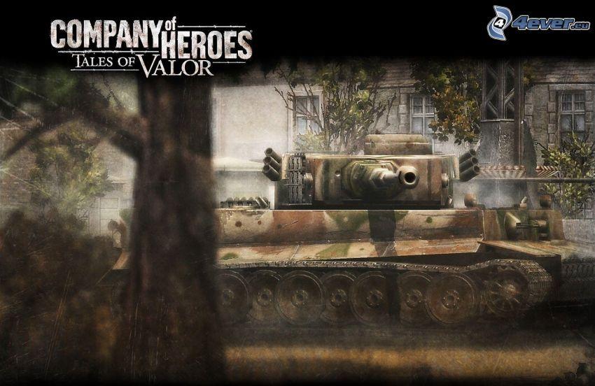Company of Heroes, carro armato
