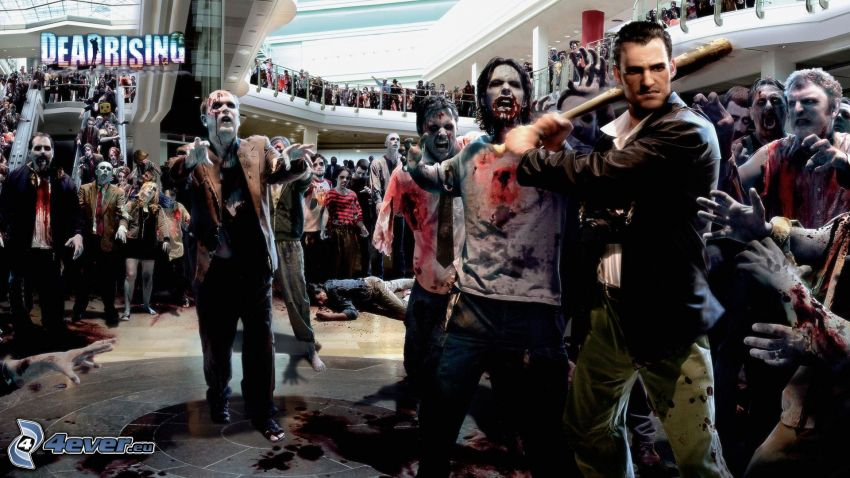 Dead Rising, zombies