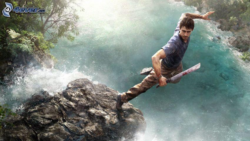 Far Cry 3, il fiume